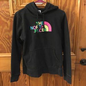 Women's North Face size M some emblem sweatshirt